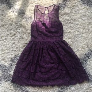 NWT Lace Fit n Flare dress